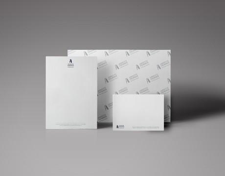 מיתוג לנייר משרדי למעצב פנים | מאי פרודקשן - הפקות דפוס דיגיטלי